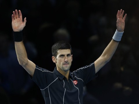 Novak Djokovic closes in on a successful defence of his O2 title by beating Juan Martin del Potro in three sets