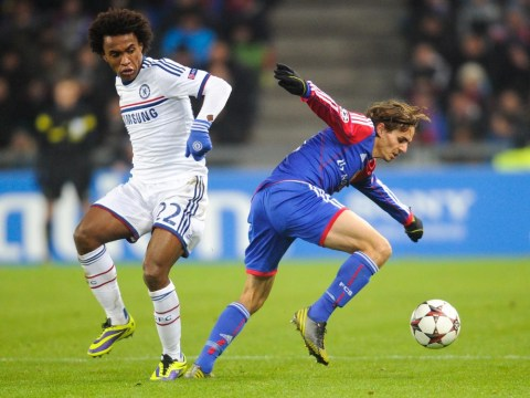 Chelsea's Willian lifts the lid on 'sci-fi' training ground