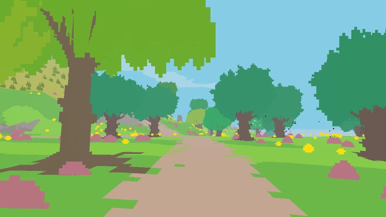 Proteus (PS3) - mystery island