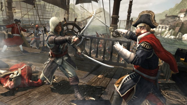 Assassin's Creed IV: Black Flag - it beat Battlefield 4, but not Assassin's Creed III