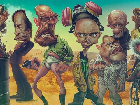 Gallery: Breaking Bad characters as you've never seem them before