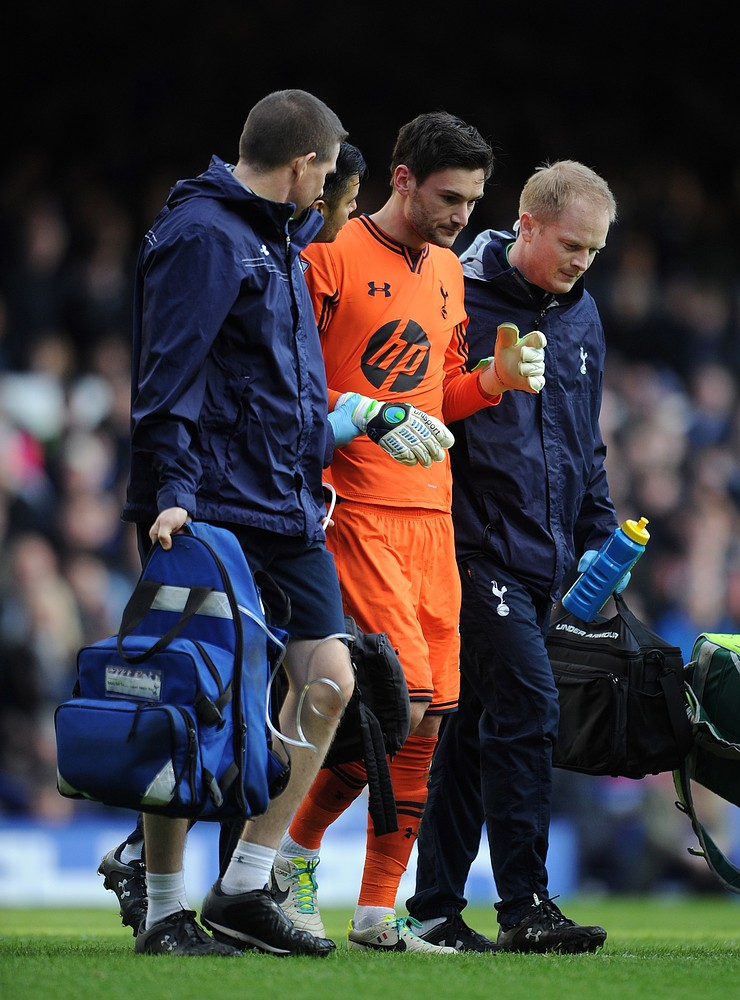 Andre Villas-Boas: I made the right decision to let Spurs goalkeeper Hugo Lloris play on against Everton