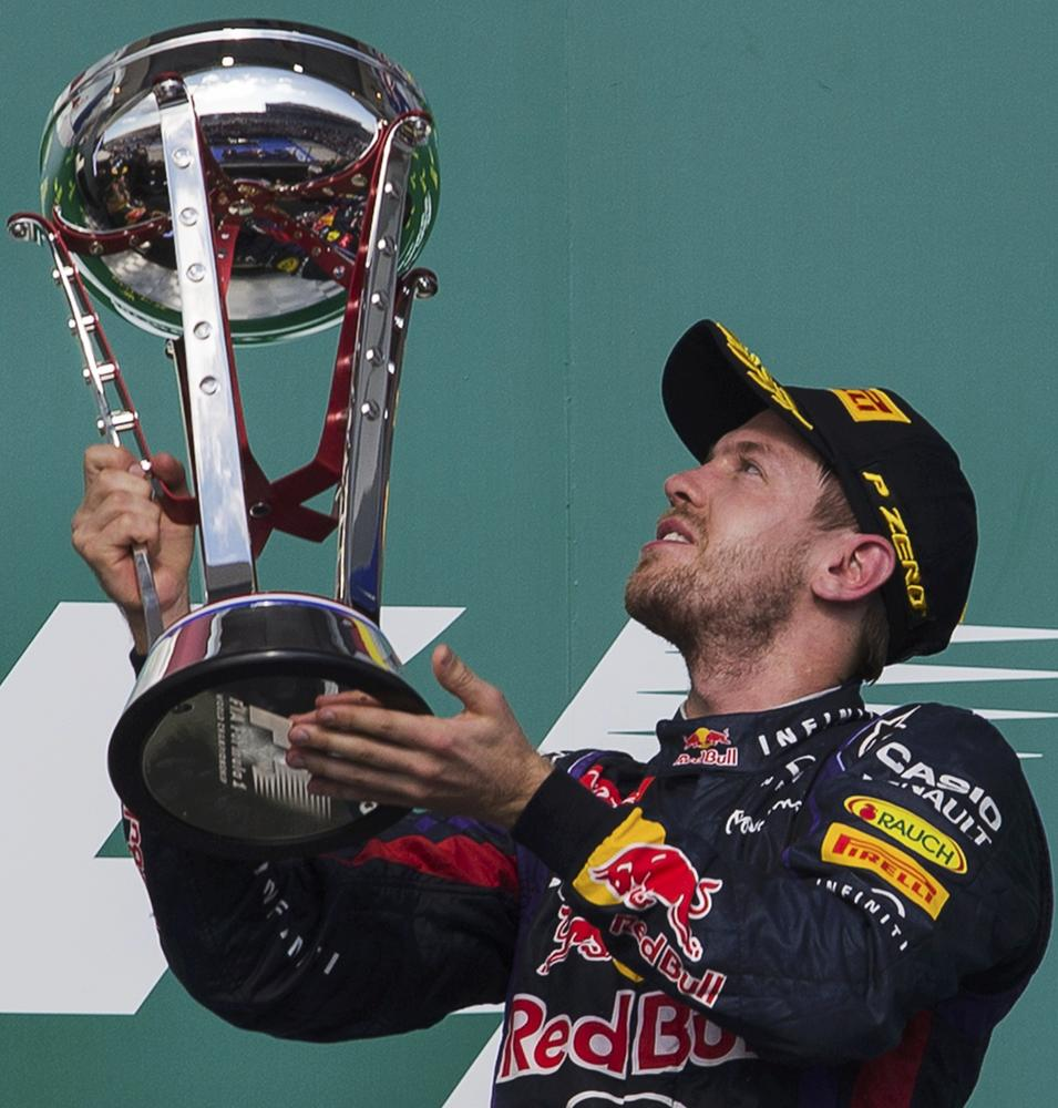 F1 debrief: History man Sebastian Vettel calls the shots again in United States Grand Prix
