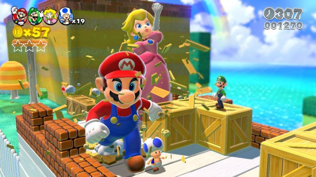 Super Mario 3D World - family favourite