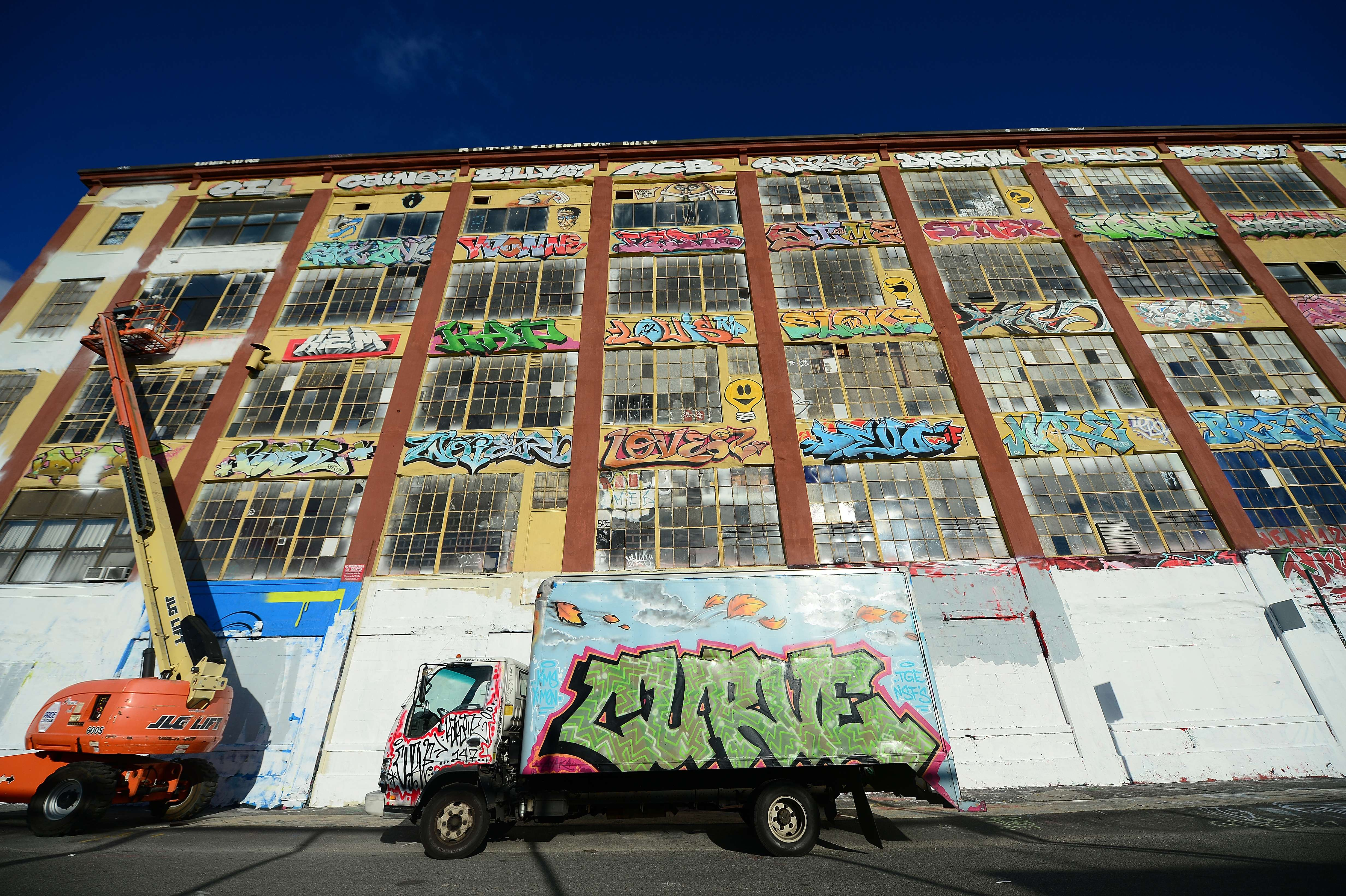 Gallery: New York Graffiti Mecca 5 Pointz, in the Long Island City neighborhood of the Queens,  erased by developer