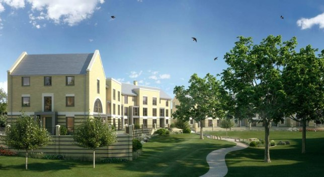 Properties from developer Charles Church in Uxbridge, Middlesex