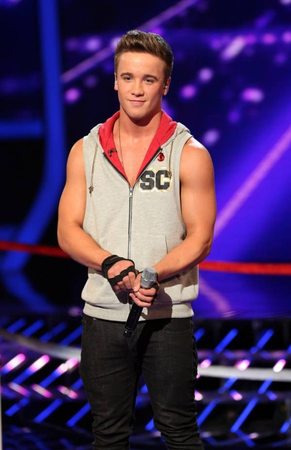 Sam Callahan in trouble with X Factor bosses for flogging own merchandise