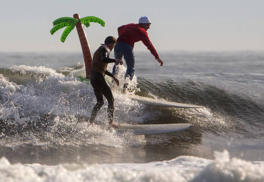 Gallery: Annual Rockaway Halloween Surf Competition