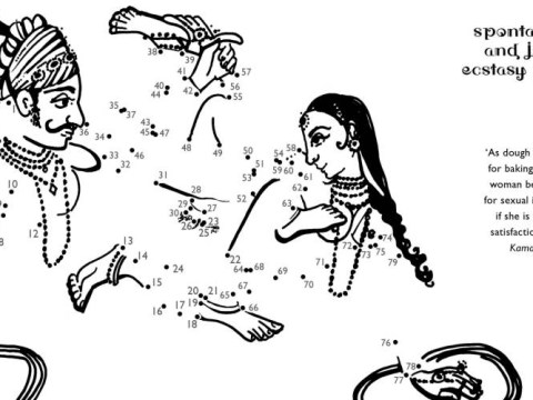 Gallery: Dot-to-dot version of Kama Sutra