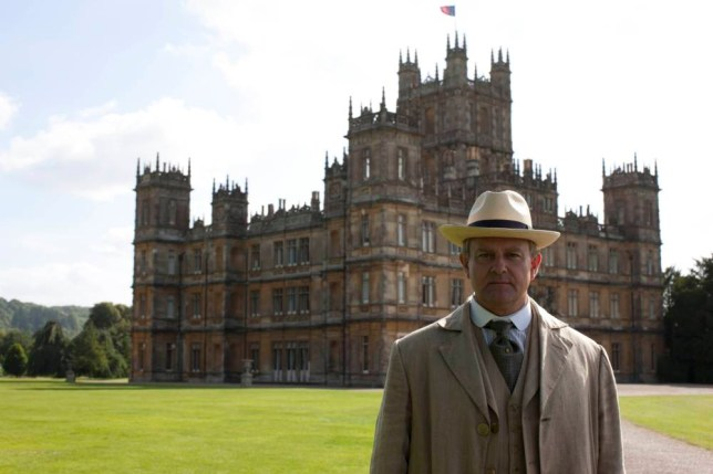 Downton Abbey S4 The fourth series, set in 1922, sees the return of our much loved characters in the sumptuous setting of Downton Abbey. As they face new challenges, the Crawley family and the servants who work for them remain inseparably interlinked. Photographer: Nick Briggs HUGH BONNEVILLE as Lord Grantham