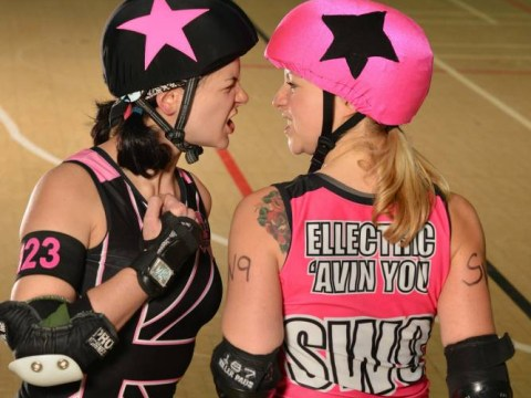 Roller derby: The full-contact sport for red-blooded women