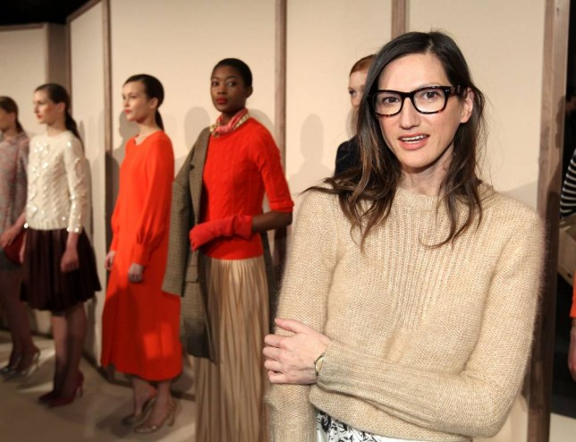 J Crew president and creative director Jenna Lyons (Picture: Getty)