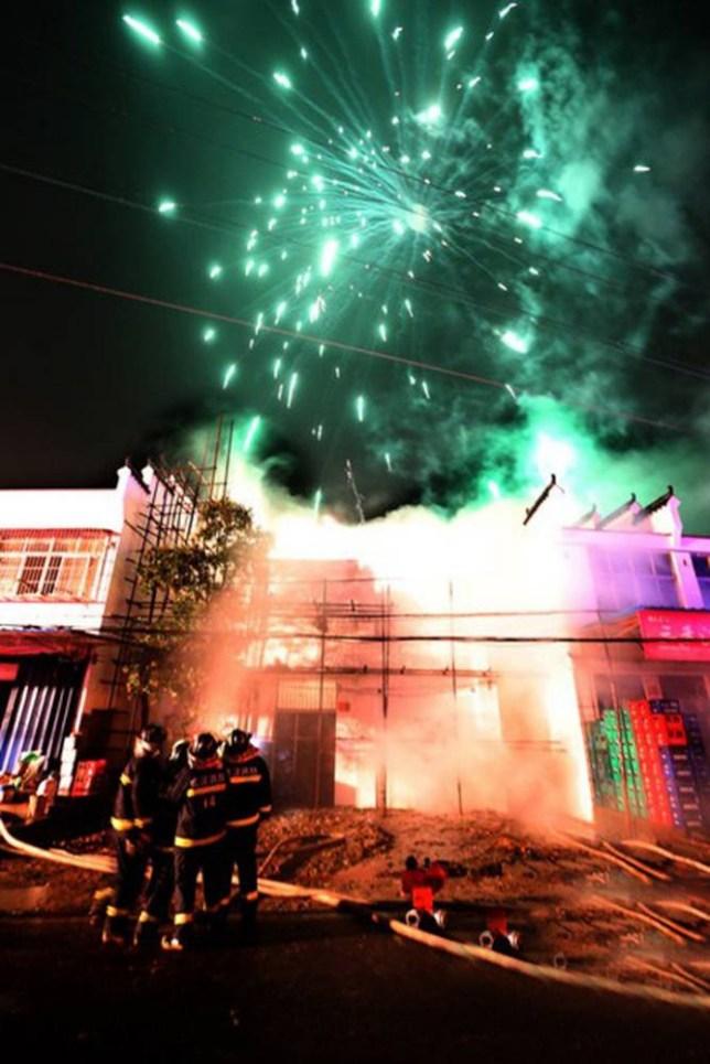 Bonfire night 2013: Why cooking sausages in a fireworks factory is a bad idea