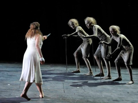 Simon McBurney's production of The Magic Flute opera needs more magic