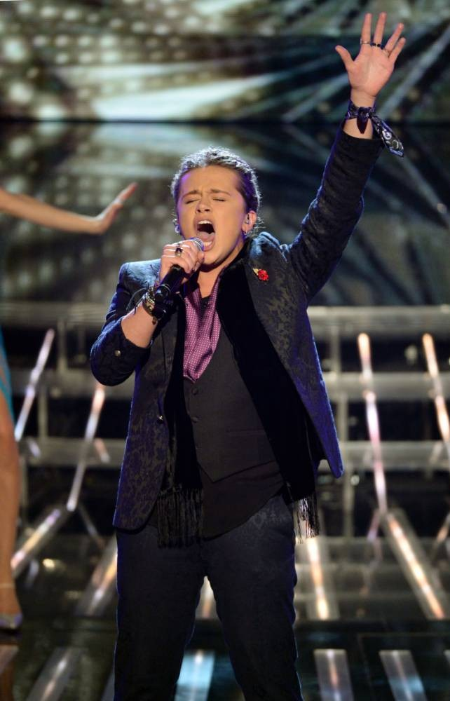 The X Factor 2013: Sam Callahan and Luke Friend get a tough time from Gary Barlow on big band week