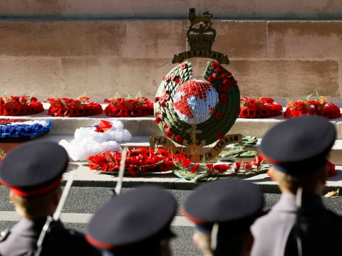 Armistice Day: Public honours fallen with two-minute silence