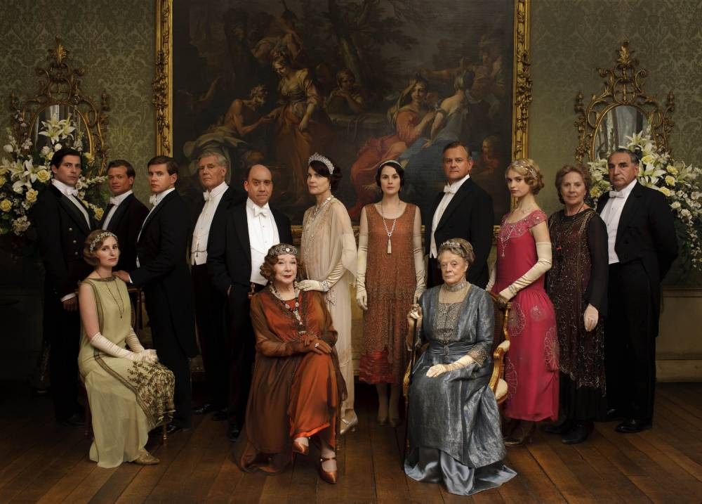 The Crawleys are coming back! Downton Abbey secures fifth series and promises to be as 'warm, witty, romantic and dramatic as ever'