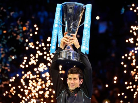 Novak Djokovic successfully defends his Barclays World Tour finals title by cruising past Rafael Nadal