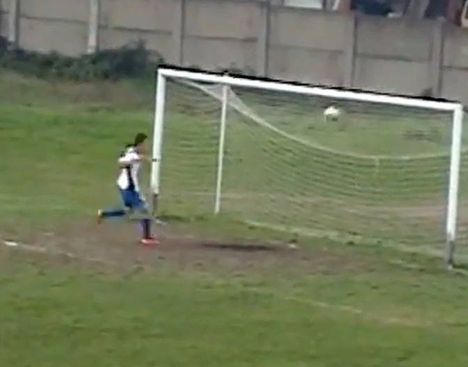 Simply the worst open-goal miss ever? – video