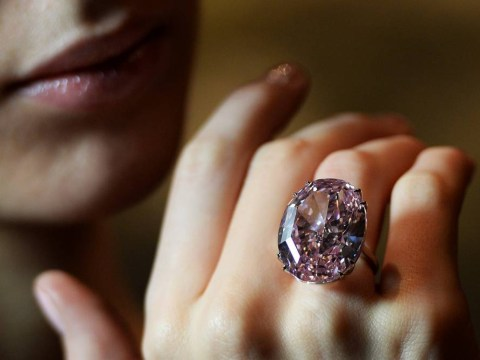 'Pink Star' diamond auctioned for record £52million