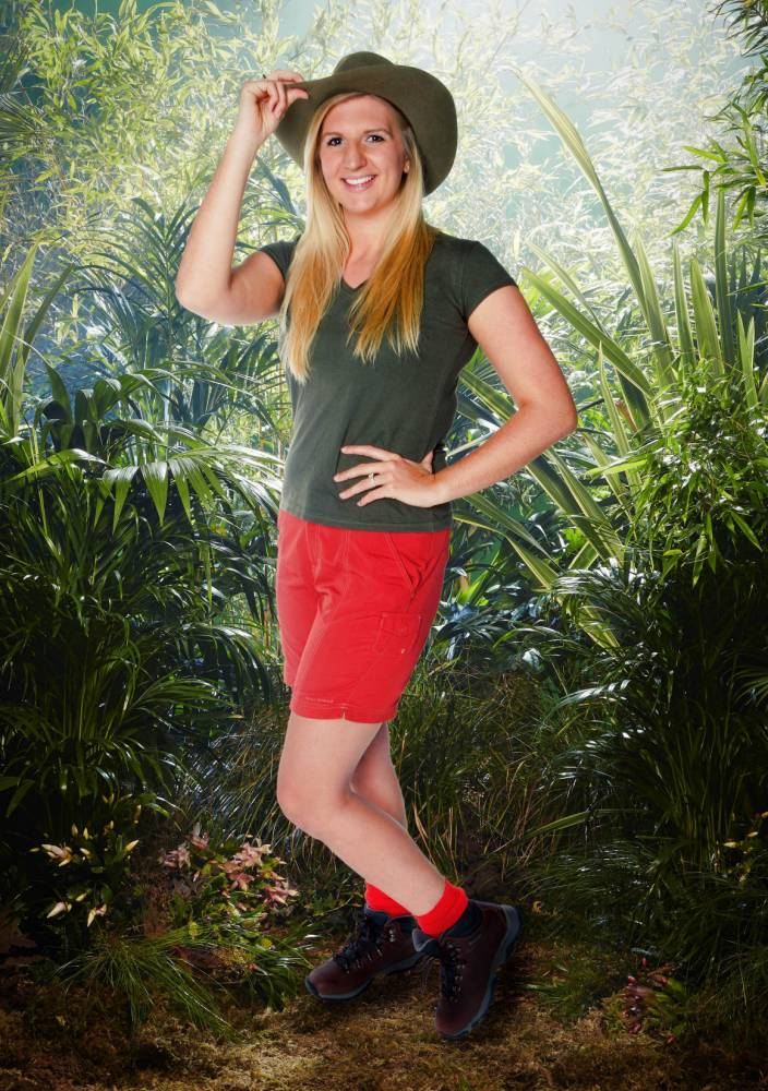'You always pee in the pool?!' Rebecca Adlington shocks I'm A Celebrity campmates with swimming pool secret