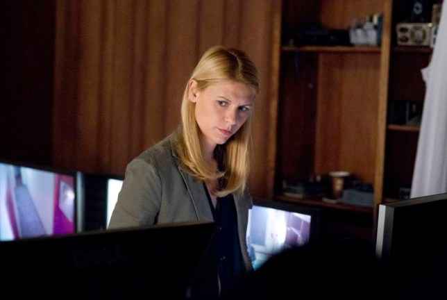 Claire Danes plays Carrie Mathison in Homeland (Picture: Showtime)