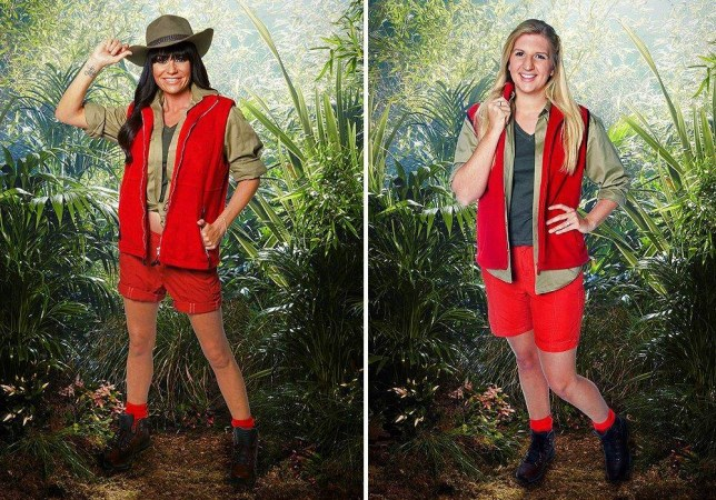Queen of the jungle? We test Lucy Pargeter against Rebecca Adlington to see which might win I'm a Celeb (Picture: ITV)