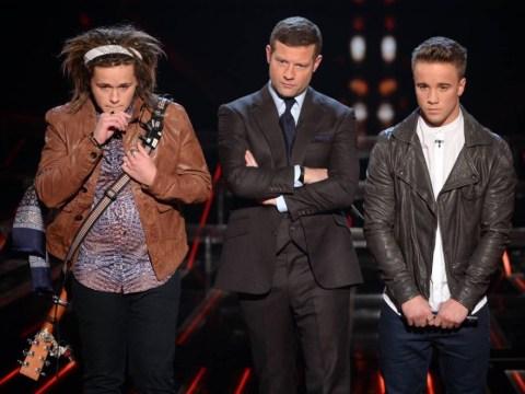 The X Factor 2013: Sam Callahan sings his last as he loses sing off to Luke Friend