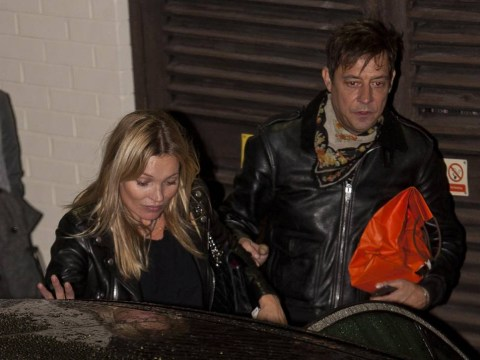 Kate Moss, Jamie Hince and Niall Horan enjoy a night at The X Factor