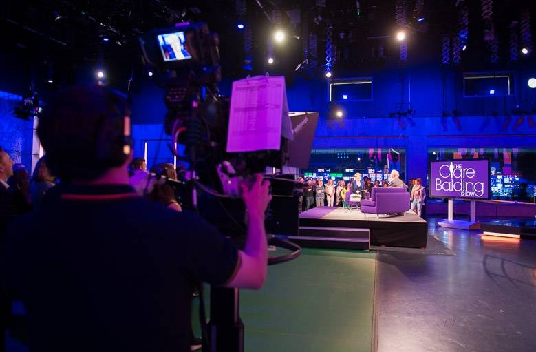 Behind the scenes at the Clare Balding Show