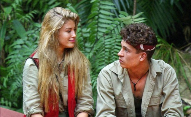 **EMBARGO - NOT TO BE USED BEFORE 21:00 18th NOV 2013**  EDITORIAL USE ONLY - NO MERCHANDISING  Mandatory Credit: Photo by ITV/REX (3382198ec)  Joey Essex and Amy Willerton  'I'm A Celebrity Get Me Out Of Here' TV Programme, Australia - 18 Nov 2013  Amy and Joey get close