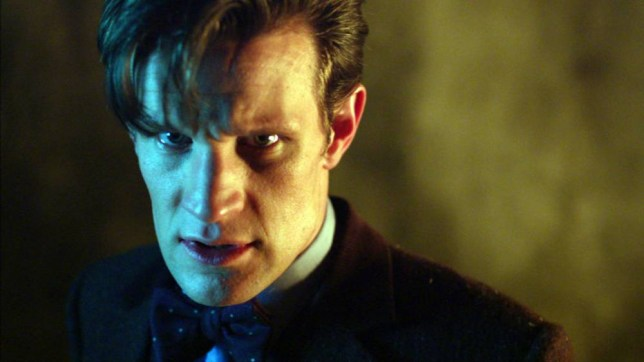 Programme Name: Doctor Who - TX: 23/11/2013 - Episode: Day of the Doctor (No. n/a) - Embargoed for publication until: 07/11/2013 - Picture Shows: *STRICTLY EMBARGOED FOR USE UNTIL 7th NOVEMBER 2013*  PLEASE DO NOT PASS ON THESE IMAGES TO 3rd PARTIES. The Doctor (MATT SMITH) - (C) BBC - Photographer: screengrabs