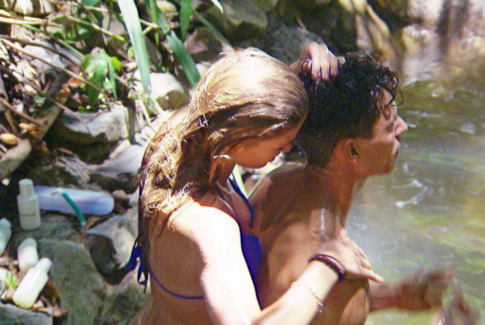 Amy Willerton and Joey Essex - I'm A Celebrity 2013
