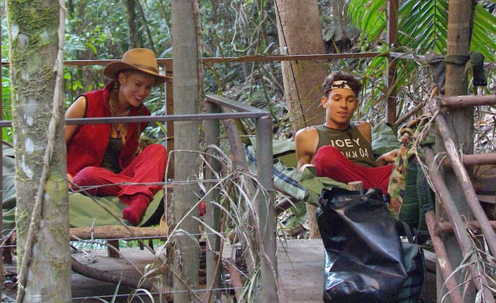 I'm A Celebrity 2013: Joey Essex and Amy Willerton get their own little love nest while Vincent Simone charms the campmates