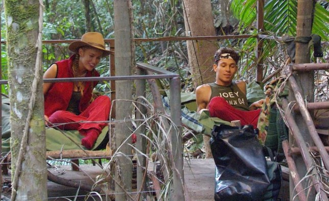 **EMBARGO NOT TO BE USED BEFORE 21:00 23rd NOV 2013** EDITORIAL USE ONLY - NO MERCHANDISING  Mandatory Credit: Photo by ITV/REX (3385898fz)  Amy Willerton and Joey Essex in The Tree House of Love  'I'm A Celebrity Get Me Out Of Here' TV Programme, Australia - 23 Nov 2013  Tree House Love...The Celebrity Campers Receive the Key to Unlock Their Treehouse Where 2 May Move to Sleep. Joey and Amy Elct to Go Up Their Together.....Alfonso Makes the Announcement to the Camp