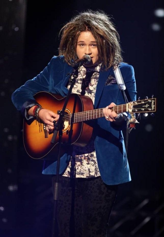 X Factor Luke Friend