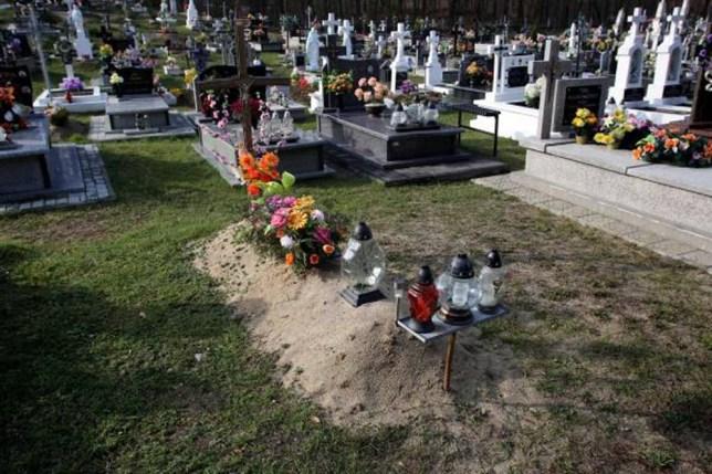 Jaroslaw Carolinski, grave