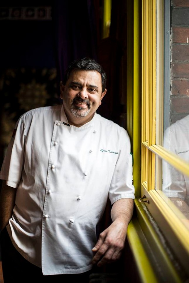 Cyrus Todiwala is the proprietor of Café Spice Namasté (Picture: supplied)