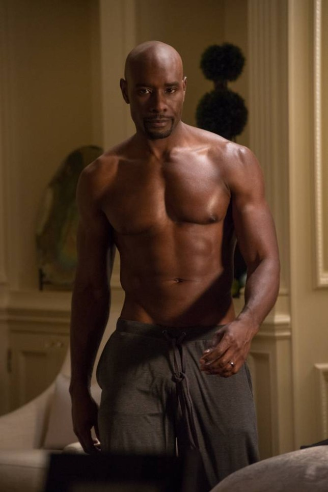 Morris Chestnut stars in this crashingly unsubtle farce (Picture: Universal)