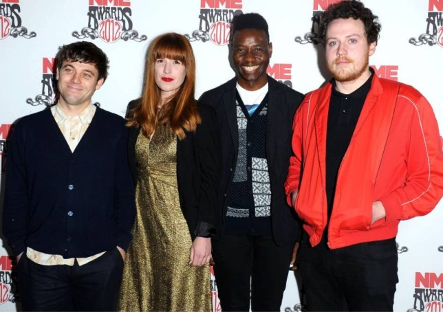 Metronomy's Joseph Mount (far right) says he's come late to the charms of Sade (Picture: Rex)