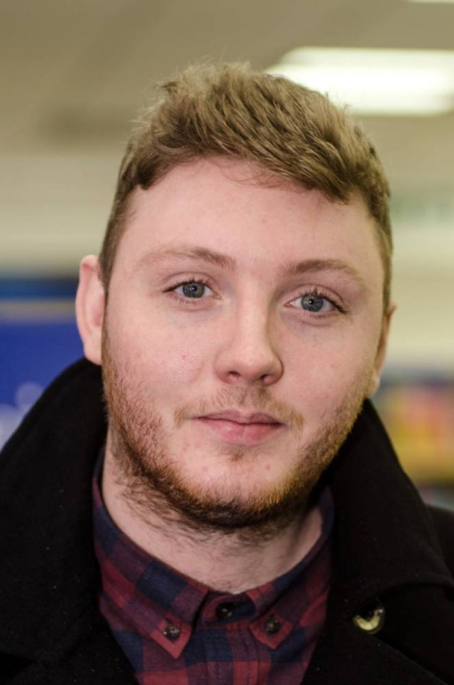 MIDDLESBROUGH, UNITED KINGDOM - JANUARY 09: James Arthur meets fans and signs copies of his book 'My Story' at WH Smith on January 9, 2013 in Middlesbrough, England. (Photo by Tommy Jackson/Getty Images)