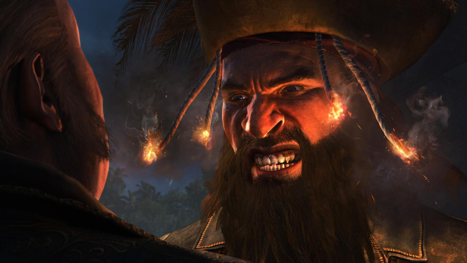 To be honest we thought Blackbeard was a bit of a bore in Assassin's Creed IV