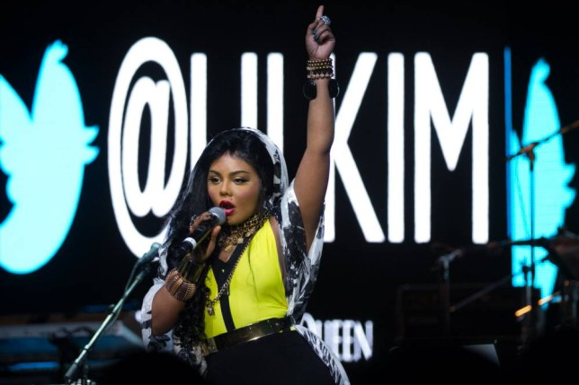 Lil' Kim will be joined by Eve at Indigo2 tonight (Picture: Corbis)