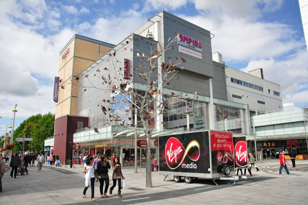 Queensmere Shopping Centre in Slough