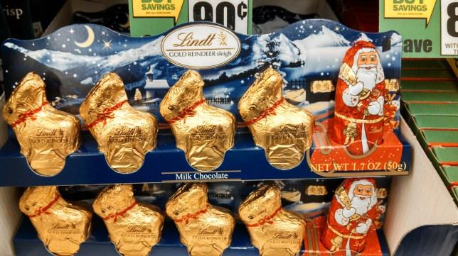 Chocolate reindeer, Lindt