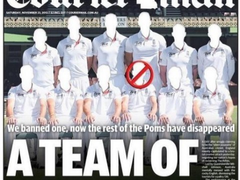 Ashes 2013-14: England vanish at the crease and in the Courier Mail