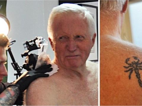 David Dimbleby: I got a tattoo to prove I'm not a wimp