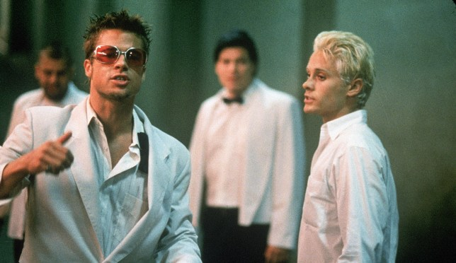 Brad Pitt and Edward Norton played Tyler Durden in Fight Club's film adaptation (Picture: 20th Century Fox)