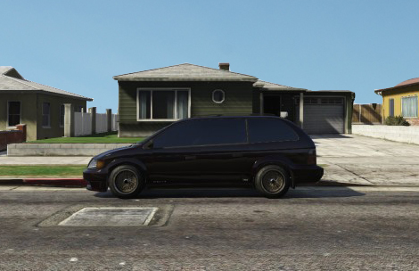 GTA 5 Online: Someone recreated Kendrick Lamar's Good Kid MAAD City artwork