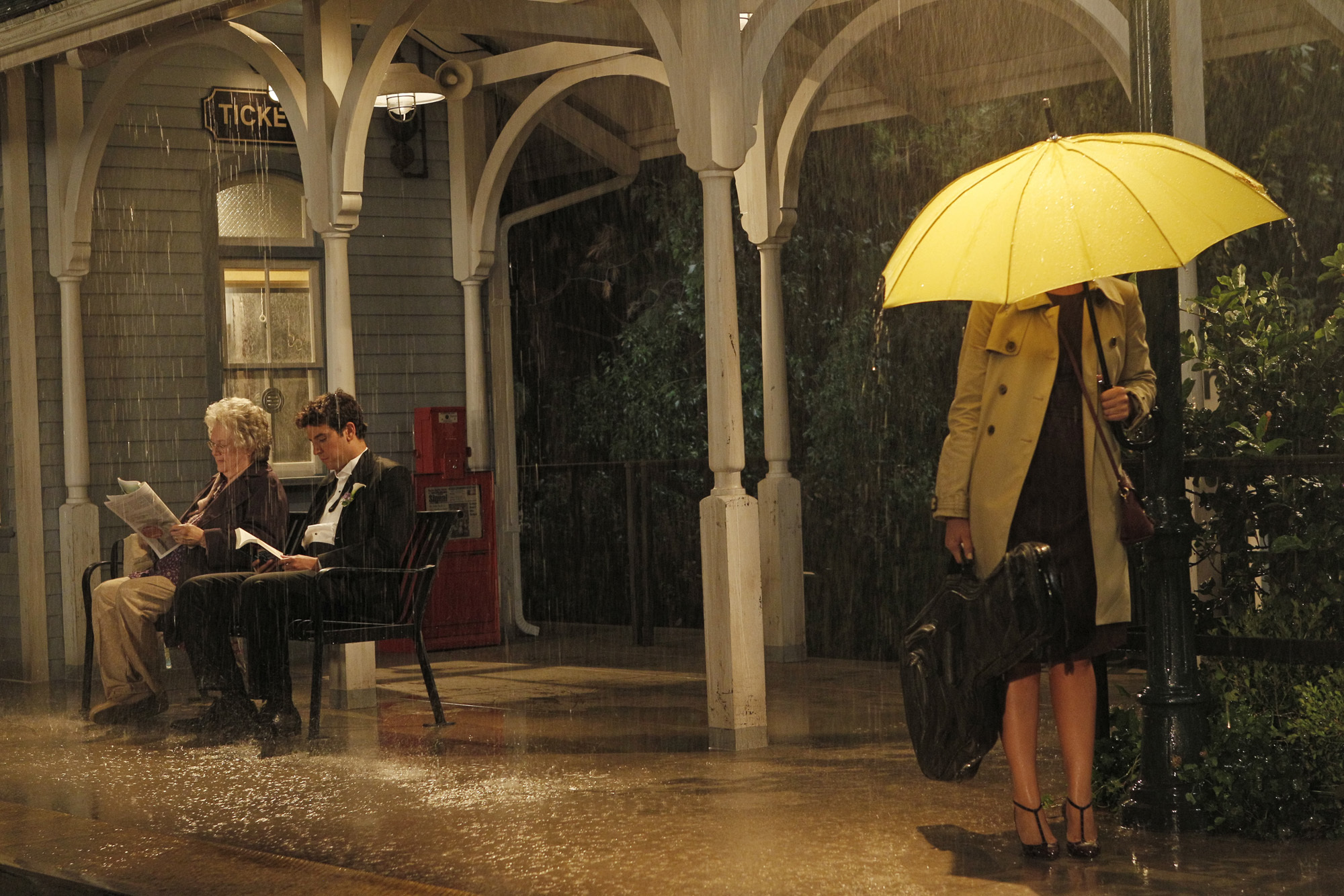 Ted Mosby in How I Met Your Mother (Picture: Robert Voets/FOX)